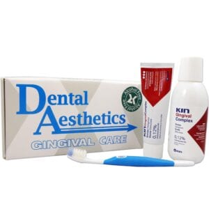 Kin Gingival Care Kit; Mouthwash, Toothpaste, Toothbrush