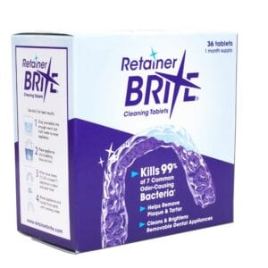 Orthodontic Cleaners