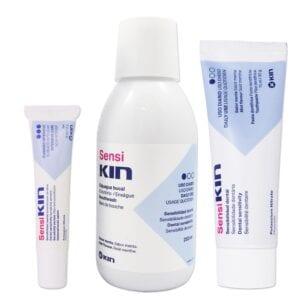Sensi Kin Mouthwash, Toothpaste & Gel