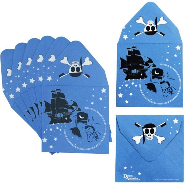 Tooth Pirate Envelopes