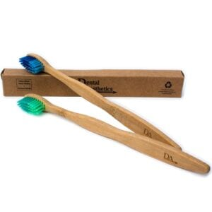 Adults & Children's Bamboo Toothbrushes ~ Soft Bristles Family Pack of 4