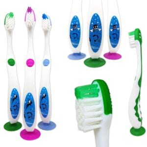 Childrens Toothbrushes ~ Fairy/Pirate Bulk