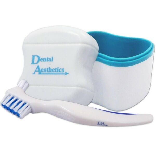 Denture Bath & Denture Brush