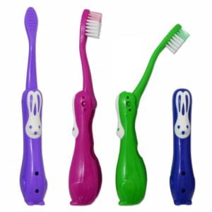 Childrens Toothbrushes ~ Rabbit Travel