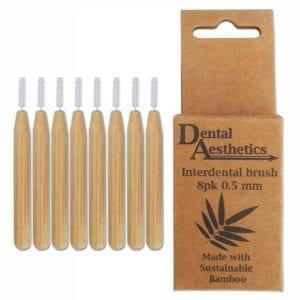 Bamboo Interdental Brushes 0.5mm