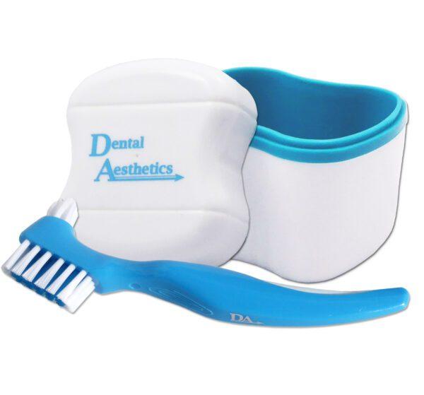 Denture Bath & Brush