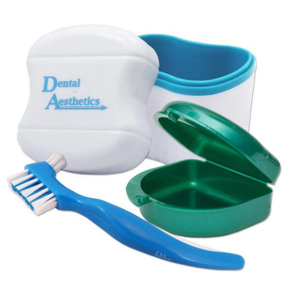 Dental Bath, Retainer Case, Denture Brush